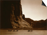 Canyon de Chelly, Navajo Plakater af Edward S. Curtis