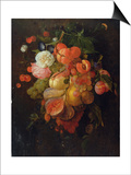 Fruit and Flowers Pósters por Jan Davidsz. de Heem