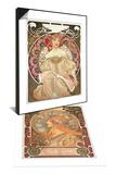 Zodiac, 1896 & Reverie, 1897 Set Posters by Alphonse Marie Mucha
