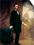 Abraham Lincoln Poster by William F. Cogswel