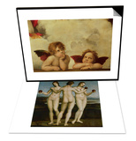 The Three Graces & The Two Angels Set Posters par  Raphael