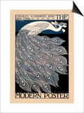 Will H. Bradley - Modern Poster - Reprodüksiyon