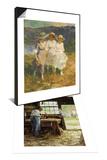 Village Carpenter, 1899 & Walking in the Hills Set Posters by Edward Henry Potthast