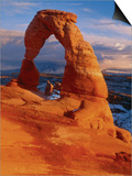 Delicate Arch at Sunset Print by George H.H. Huey