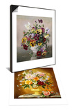 Summer Flowers & A Still Life with Pansies Set Poster by Albert Williams
