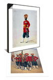 Soldiers of the 15th Ludhiana Sikhs & Soldier of the 35th Sikhs, Subadar Set Prints by Alfred Crowdy Lovett