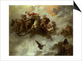The Ride of the Valkyries Print by William T. Maud