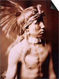 Shows As He Goes Posters by Edward S. Curtis
