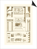 Ionic Capitals Print by J. Buhlmann