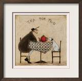 Tea for Two Poster by Sam Toft