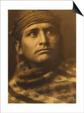Chief of the Desert, Navaho Prints by Edward S. Curtis