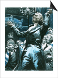 William Wilberforce Speaking Out Againstslavery in the House of Lords Prints by C.l. Doughty