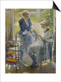 The Garden Room, Giverny Prints by Richard E. Miller