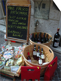 Wine and Cheese Shop, Lake Garda, Bardolino, Italy Posters by Lisa S. Engelbrecht