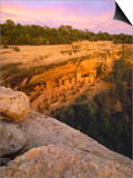 Cliff Palace Anasazi Cliff Dwelling at Mesa Verde National Park Posters by George H.H. Huey