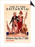 Side by Side, Britannia Posters by Susan E. Meyer