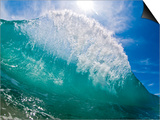 Shorebreak wave Prints by Mark A. Johnson