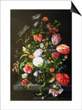 Still Life of Flowers Láminas por Jan Davidsz. de Heem