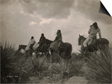 Before the Storm, Apache Plakater af Edward S. Curtis