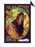 Malaga Grandes Fiestas Prints by Susan E. Meyer