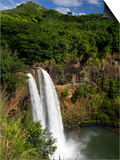 Wailua Falls, Kauai, Hawaii, USA Posters by David R. Frazier