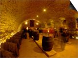 Wine Cellar of Chateau de Pierreclos, Burgundy, France Art by Lisa S. Engelbrecht