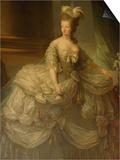 Portrait of Marie Antoinette, Versailles, France Prints by Lisa S. Engelbrecht