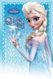 El Reino del hielo, Frozen - Elsa Lámina