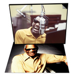 Ray Charles Portrait & Ray Charles in the Studio Set Art