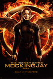 Hunger Games - Mockingjay Part 1 Katniss Plakater