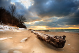 Rocky Gap Beach, Benton Harbor, Michigan Photographic Print by  soupstock