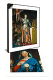 The Virgin with the Eucharist & Joan of Arc at Coronation of King Charles VII Set Prints by Jean-Auguste-Dominique Ingres