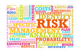 Risk Management Corporate Concept as a Abstract Prints by  kentoh