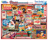 Diners 1000 Piece Puzzle Jigsaw Puzzle
