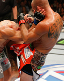 UFC 178 - Cerrone v Alvarez Photographic Print by Josh Hedges/Zuffa LLC