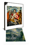 The Assumption of Saint Mary, Around 1613 & Holy Family Set Posters by  El Greco