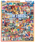 The Eighties 1000 Piece Puzzle Jigsaw Puzzle