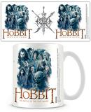 The Hobbit 5 Armies - Montage Mug Krus