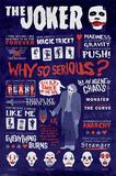 The Dark Knight - Joker Quotographic Posters