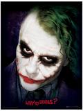 The Dark Knight - Joker Face Mestertrykk