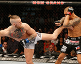 UFC 178 - Poirier v Mcgregor Photographic Print by Josh Hedges/Zuffa LLC