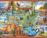 National Parks 1000 Piece Puzzle Jigsaw Puzzle