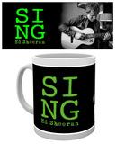 Ed Sheeran - Guitar Mug Becher
