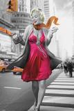 Jadei Graphics - Monroe New York Walk Posters