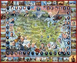 United States Presidents 1000 Piece Puzzle Puzzle