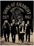 Sons of Anarchy - Reaper Crew Masterprint