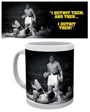 Muhammad Ali - I Outwit Them Mug Taza