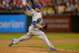 Los Angeles Dodgers v St Louis Cardinals - Game Three Photographic Print by Michael Thomas