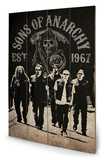 Sons of Anarchy - Reaper Crew Wood Sign