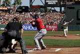 Division Series - Washington Nationals v San Francisco Giants - Game Three Photographic Print by  Pool
